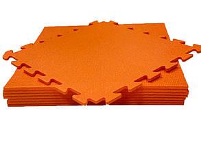 Lanor Детский мягкий пол-пазл 480*480*10мм НХ оранжевый