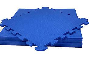 Lanor Детский мягкий пол-пазл 480*480*10мм НХ синий