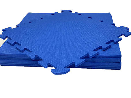 Lanor Детский мягкий пол-пазл 480*480*10мм НХ синий, фото 2