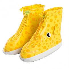 Дождевики для обуви Metr+ CLG17226S размер S 20 см (Желтый)