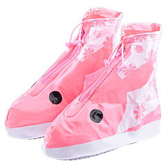 Дождевики для обуви Metr+ CLG17226S размер S 20 см (Розовый)
