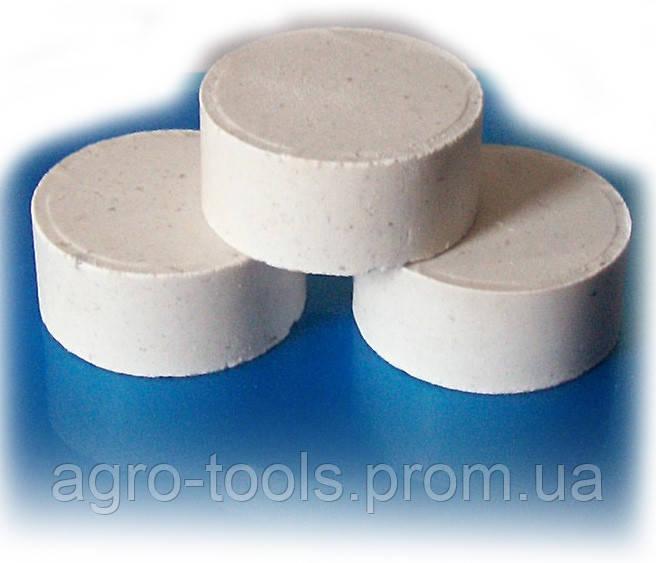 Дегазер ( таблетки дегазирующие для литейного  производства) по 200 грамм, ящик 84 штуки