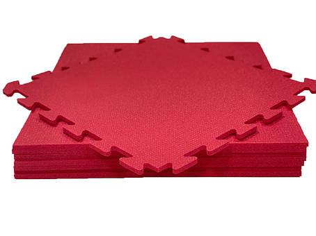 Lanor Детский мягкий пол-пазл 480*480*10мм НХ красный, фото 2