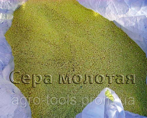 СЕРА МОЛОТАЯ 30 кг, фото 2