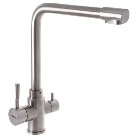 Смеситель для кухни ZERIX LR4355-3 с выходом для питьевой воды (LL1201), фото 2