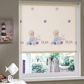Штора в детскую комнату Tac - Frozen 150*200