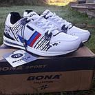 Кроссовки Bona р.40 кожа белые, фото 2