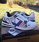Кроссовки Bona р.40 кожа белые, фото 5