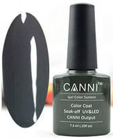 Гель лак Canni 151 (темный оливково-серый)