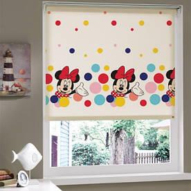 Штора в детскую комнату Tac - Minnie Mouse 150*200