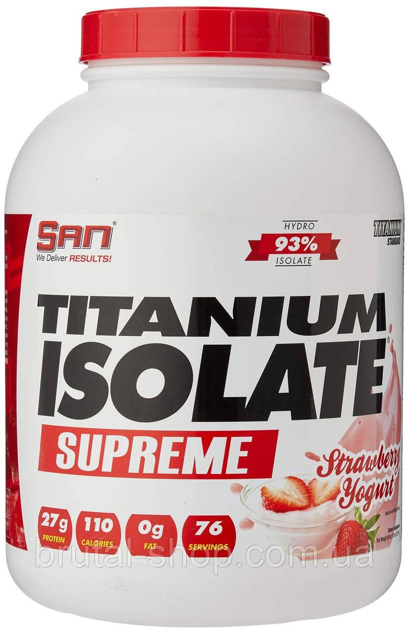 Протеин  San Titamium Isolate Supreme (2270g)