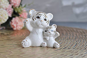 "Статуэтка ""Тигр с ребенком"", 9 см"