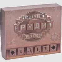 Детская настольная игра Эрудит-Элит на укр.языке