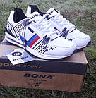 Кроссовки Bona р.37 кожа белые, фото 3