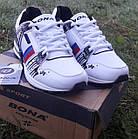 Кроссовки Bona р.37 кожа белые, фото 4