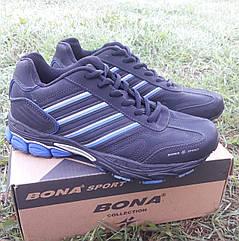 Кроссовки Bona р.37 кожа чёрные