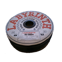 Лента капельного полива LABYRINTH, бухта 500 м (8 mil, 10 см, 1.1 л/ч), фото 1