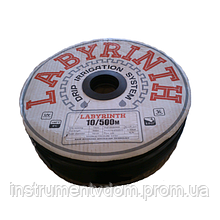 Лента капельного полива LABYRINTH, бухта 500 м (8 mil, 10 см, 1.1 л/ч)