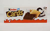 Печенье Kinder Cards 128г (Германия), фото 1