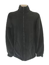 Кофта-реглан флисова черна 00237