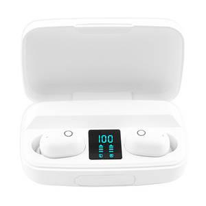 Бездротові вакуумні навушники Jbl TWS-BT011, Сенсорна Bluеtооth гарнітура з мікрофоном для телефону USB