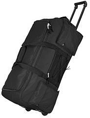 Велика дорожня сумка на колесах 68L Topmove чорна IAN351532