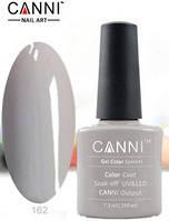 Гель лак Canni 162 (серо-розовый)