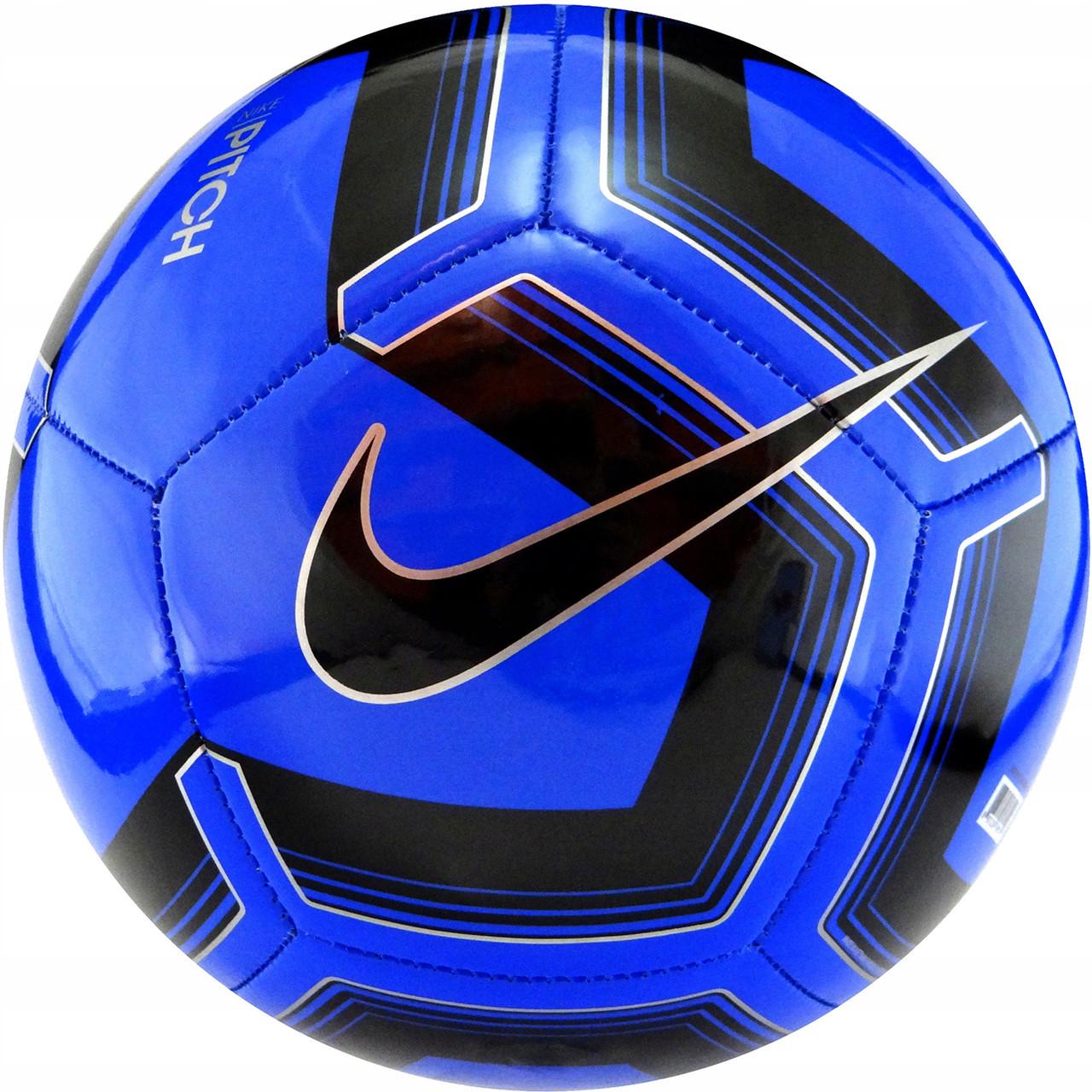 М'яч футбольний Nike Pitch Training SC3893-410 Size 5