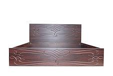 Кровать Джина (1,40 м.) (ассортимент цветов) (с доставкой), фото 3