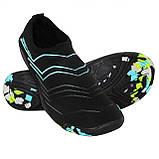 Обувь для пляжа и кораллов (аквашузы) SportVida SV-GY0005-R37 Size 37 Black/Blue, фото 4