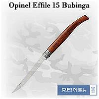 Opinel Effile №15 Bubinga, складной филейный нож для рыбы