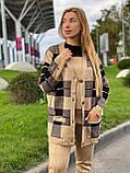Женский спортивный вязаный костюм тройка, (Турция); Размеры:универсальный (46-48-50-52); 4 цвета на фото., фото 4