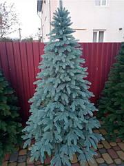 Преміум блакитна ялина 2,3 м лита штучна новорічна ялинка, ялинка