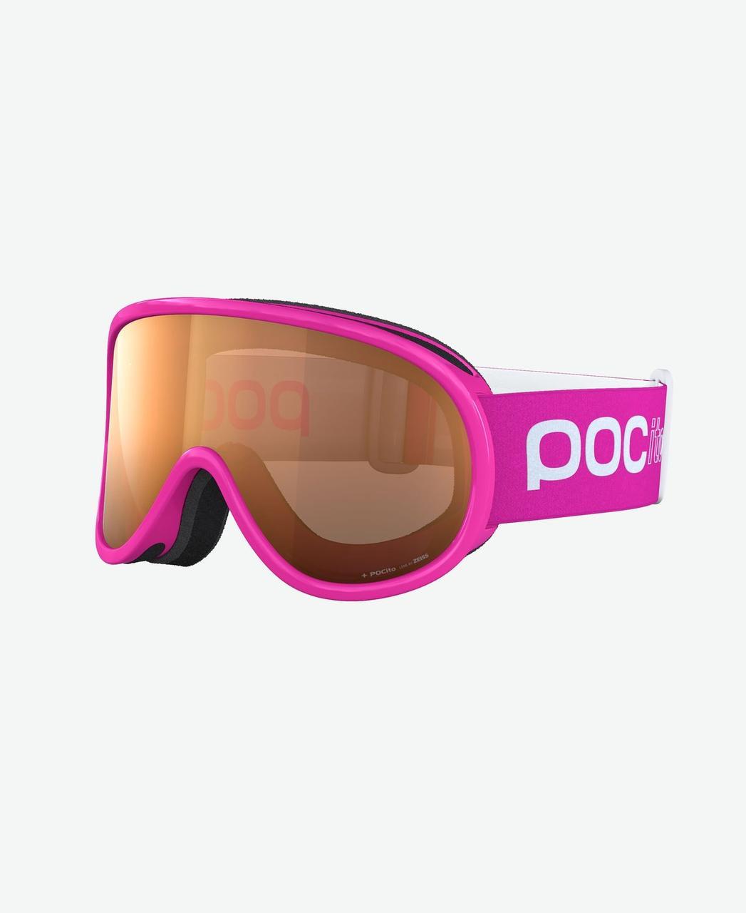 POCito Retina маска гірськолижна (Fluorescent Pink)