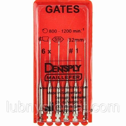 "Гейтсы 32 мм (1-6) (6шт) -корн маш.сверла  ""Малифер""(шт.)"