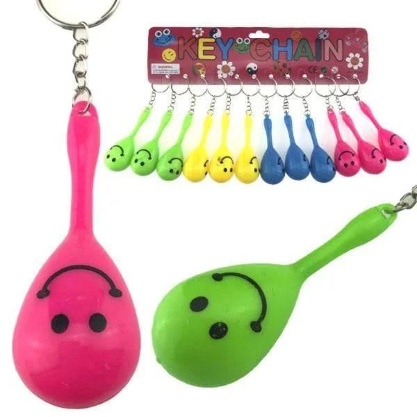 Брелок для ключей погремушка Маракас 12 шт