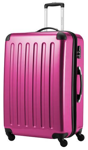 Чемодан-гигант 4-колесный вместительный дорожный 130 л. HAUPTSTADTKOFFER alex maxi pink розовый