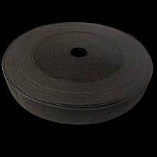 Гумка для шиття чорна 2,5 см 2 шт