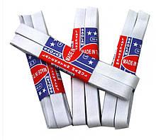 Резинка для рукоделия белая 1,5 см 12 шт