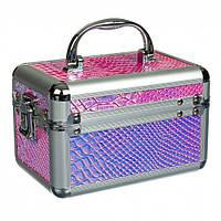 Кейс шкатулка для косметики и украшений органайзер бокс для косметики хранение косметичка дорожные косметички