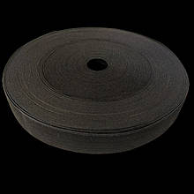 Бельевая резинка широкая черная 2 см 2 шт