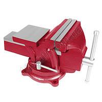 Тиски слесарные поворотные 125 мм HT-0052