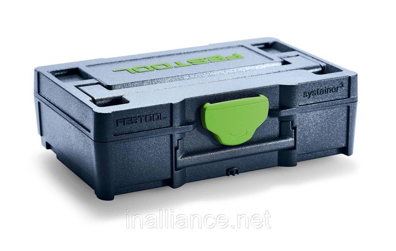 Микро-систейнер Systainer³ SYS3 XXS 33 BL Festool 205399