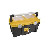 """Ящик для инструмента Topex 79R129 25"""", с алюминиевой ручкой (79R129)"""