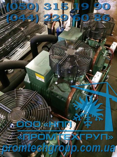 Холодильная установка Б/У Bitzer 3x 4PES-12Y (145,5 m3/h)
