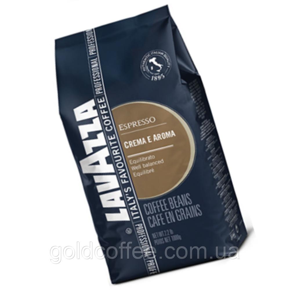 Кофе в зернах Lavazza Espresso Crema e Aroma Blue 1 кг - Goldcoffee в Киеве