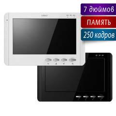 Встречайте новинку! AVD-709M - цветной видеодомофон с памятью