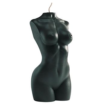 Свеча женский торс черная Besensua grand femme noir 13 см