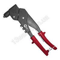 Пистолет заклепочный ручной поворотный на 360°, диаметр заклепки 3.2; 4; 4.8мм RT-0009