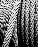 Канат сталевий канат подвійного звивання ГОСТ 2688 d=6,2 мм
